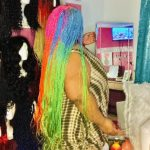 Wig NIKKI Rainbow Twist Braids Wig photo review
