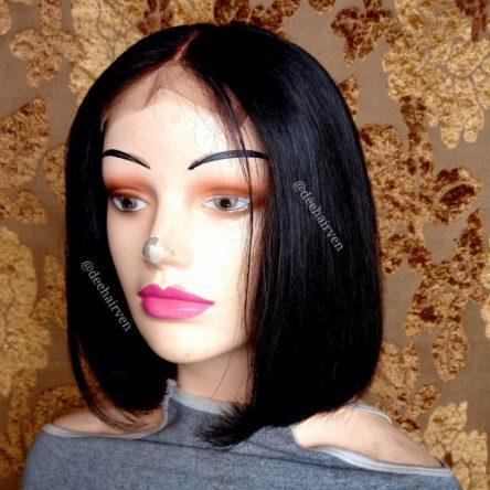 Human Hair Bob Lace Wig